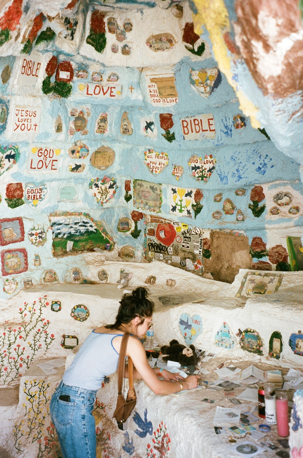 Salvation Mountain in Niland, California