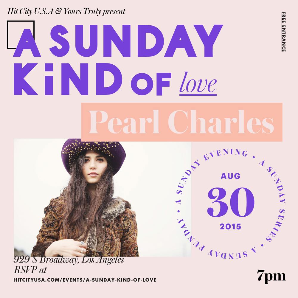 A Sunday Kind of Love With Pearl Charles