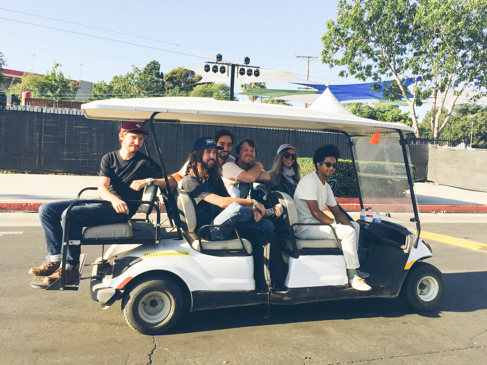 The Toro y Moi crew in full chill mode