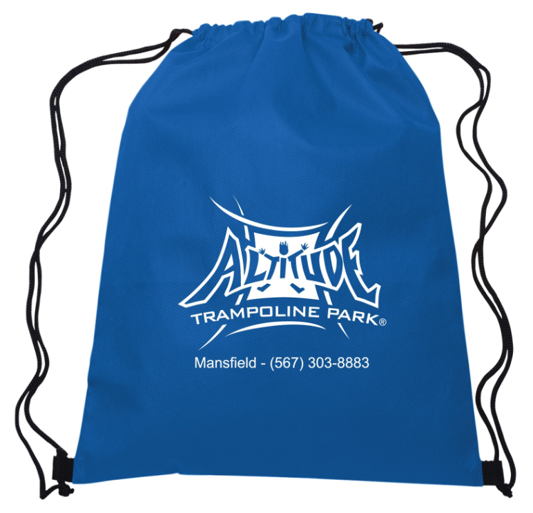 100 Drawstring Backpacks - $135.00