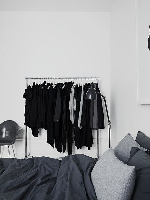 Minimalist Clothing Rack