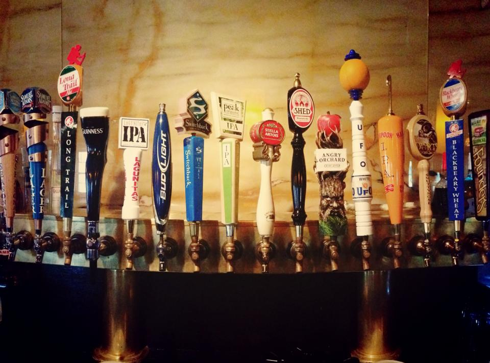 Our management team carefully selects a variety of local craft beers. The selection is always changing. There's always something new to try! Happy Hour prices are honored for most beers on tap!
