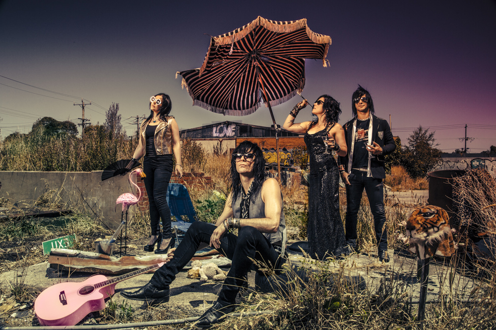 THE MERCY KILLS - Paradise Motel, EP Cover