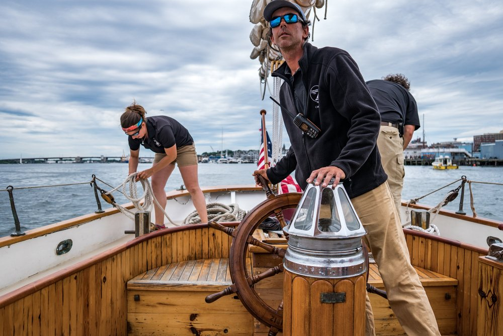 STEP ABOARD THE EXTRAORDINARY - Book a sail of a lifetime on one of our three historic SchoonersSchooner Wendameen 1912, Schooner Bagheera 1924  & Schooner Timberwind 1931