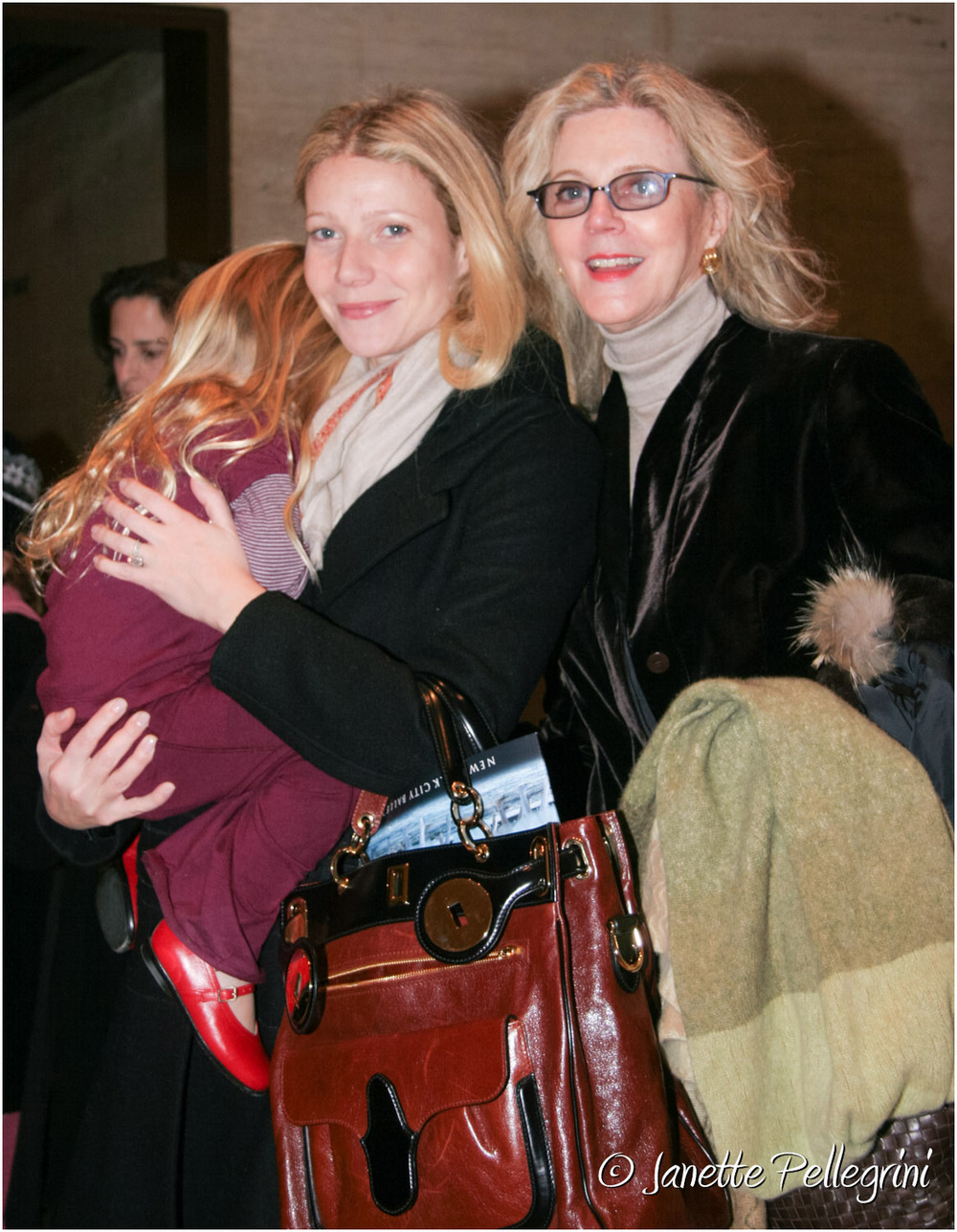 Gwyneth Paltrow &Blythe Danner