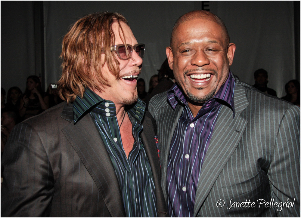 Mickey Rourke & Forest Whitaker