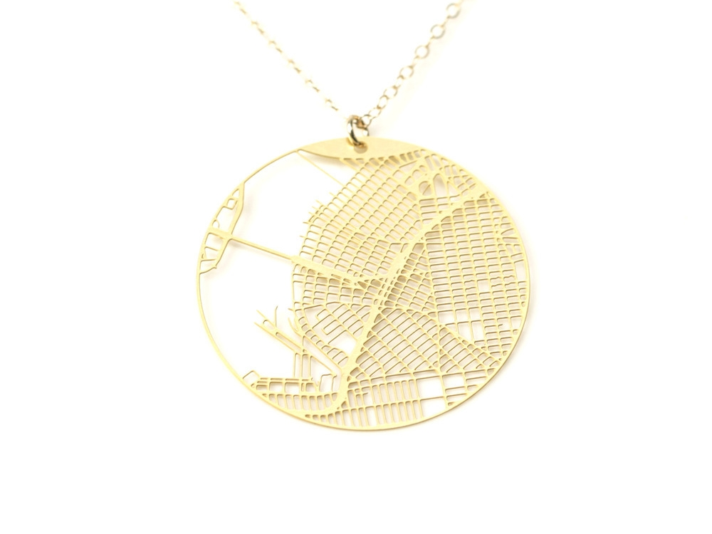 Williamsburg Necklace Gold