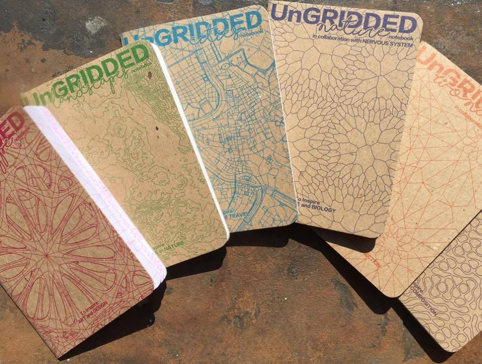 UNGRIDDED Coloring Book and Notebooks on Kickstarter — AMINIMAL