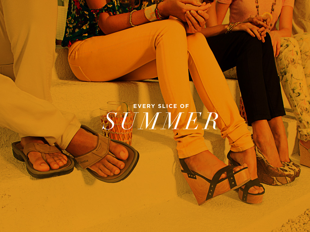 Off Broadway Shoes Summer '12 Campaign