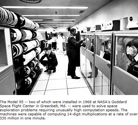 The End of the Mainframe Era at NASA   nasa.gov    This month marks the end of an era in NASA computing. Marshall Space Flight Center powered down NASA's last mainframe, the IBM Z9 Mainframe. For my millennial readers, I suppose that I should define what a mainframe is. Well, that's…      End of line.