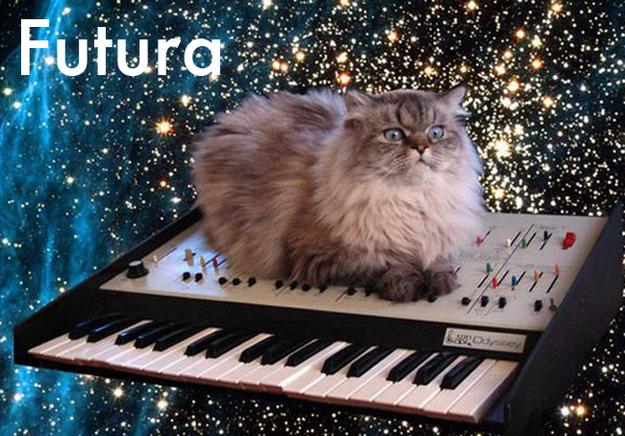 #Futura #Cat #typography