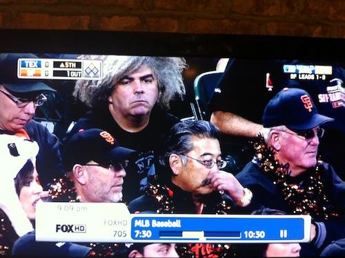 oldschoolhardcore :     Buzz is apparantly a big baseball fan…
