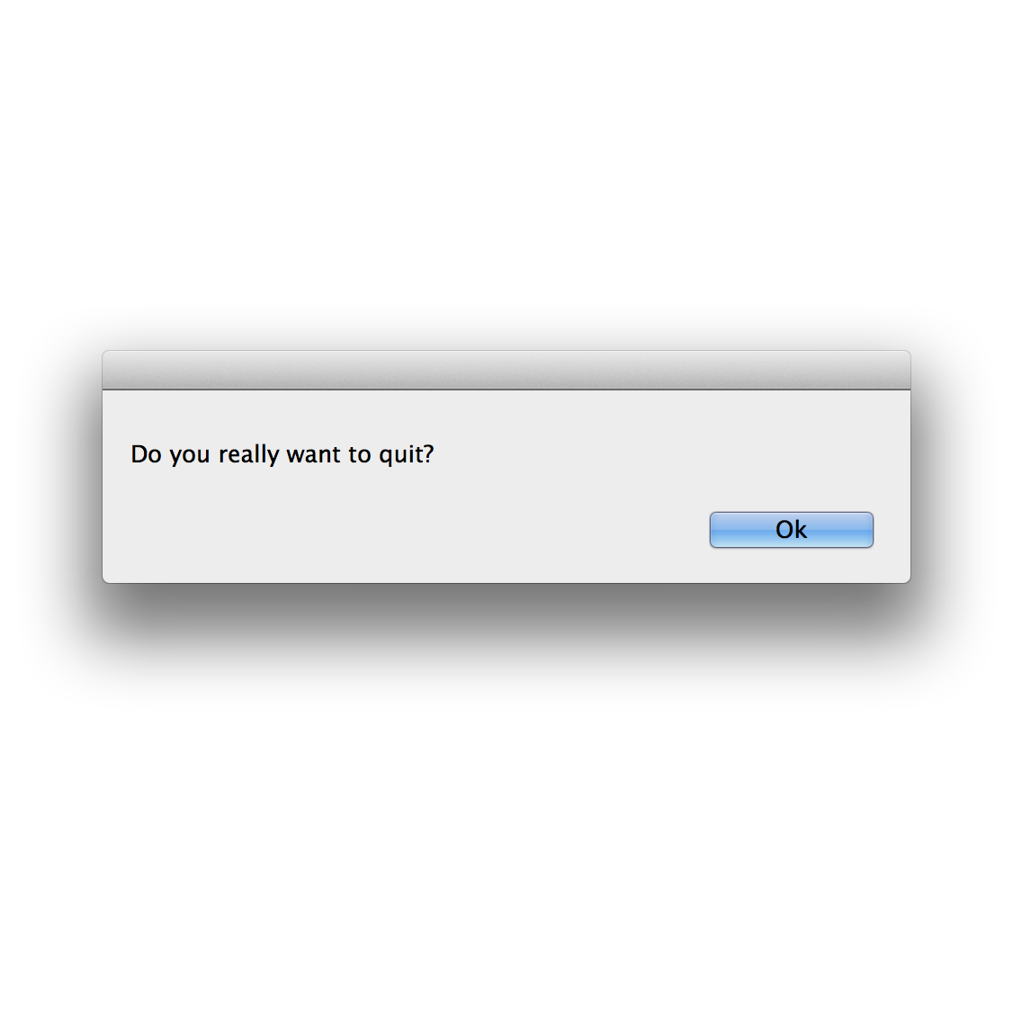 gothscreenshots :     Do you really want to quit?