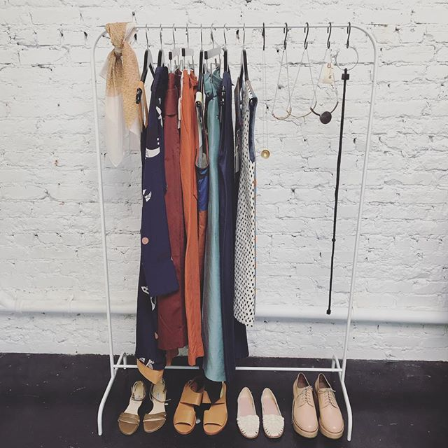 Our last day in our brick + mortar store is in less than a week 😱. Clothing is still at 60% off (even new arrivals) and accessories at 30% off. It's so bittersweet and we are excited to release our next step! ❤️️ (Please message us if interested in any of the handmade copper fixtures, mini fridge, full size fridge, canon printer, tables and shelves we have available. It all has to go by Oct 31st)