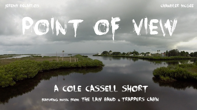 My first narrative short, Point of View, starring Jeremy DeCarlos and Chandler McGee, out 12/31/14. Check out the blog here.