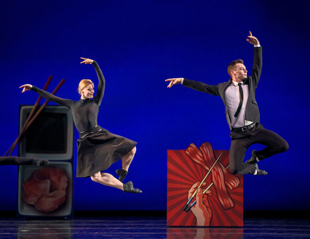 Tessa Barbour and John Orr in Val Caniparoli's If I Were A Sushi Roll @smuinballet