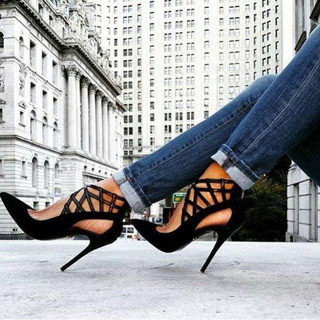 New heights.  #shoestalker #heels