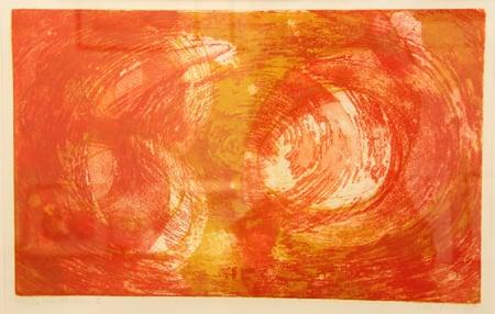 Lillen Dahl Vogt, En eremitts verden 2, 3/15  Grafikk 70x52 cm