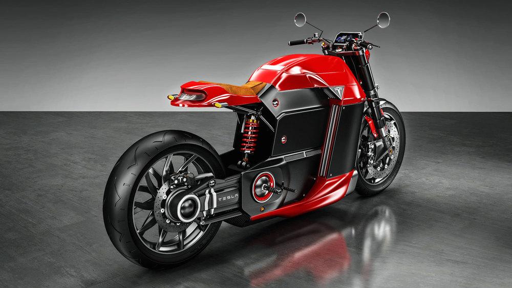 A Tesla Motorcycle? � 1ST KICK MOTO