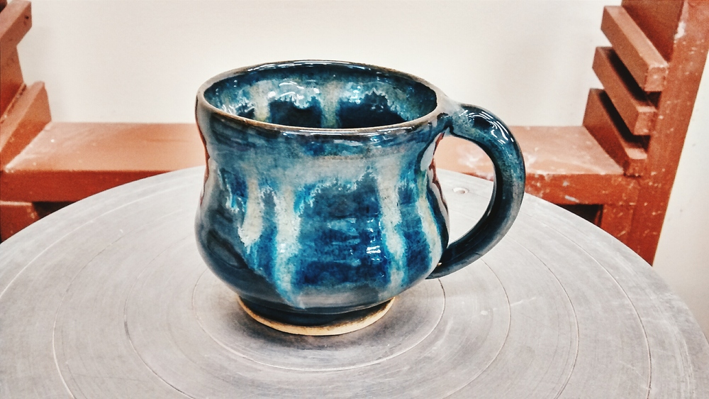 Ceramic Mug with Glaze