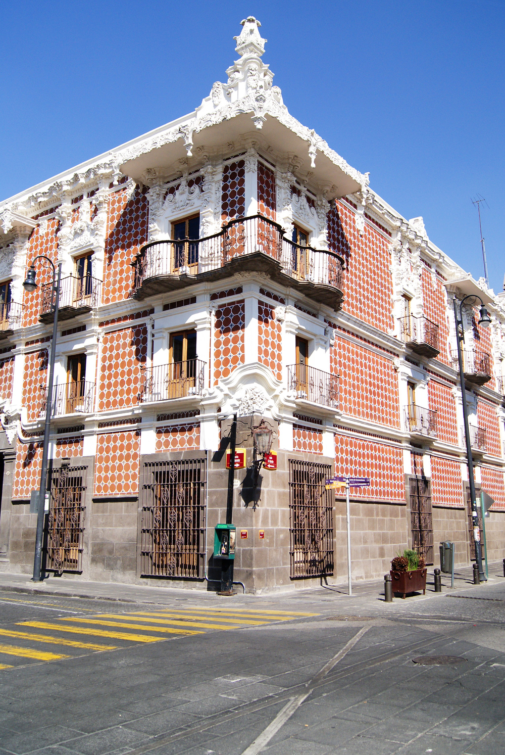 Street in Puebla