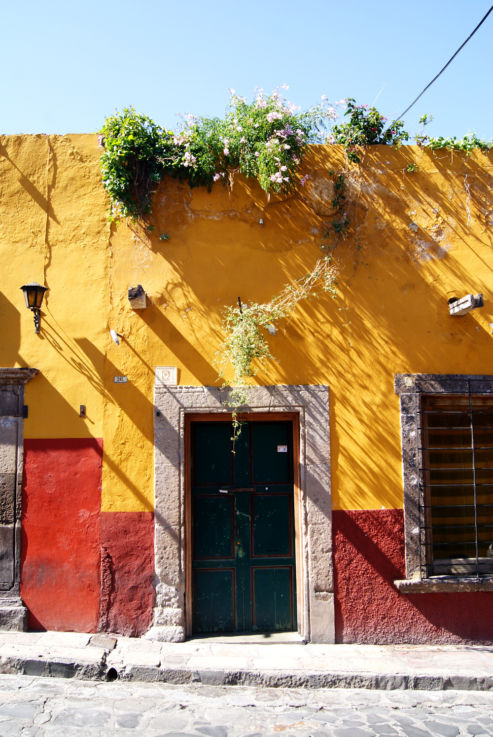 Colorful Doorway in San Miguel