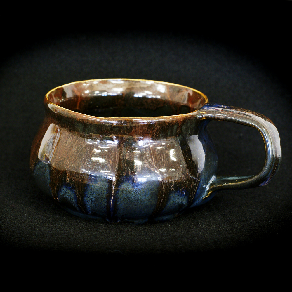 Blue-Brown Mug