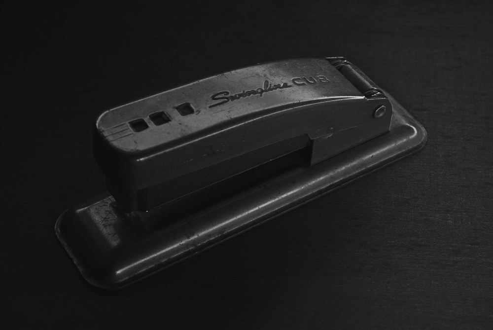 Random stapler found in Grandpa's house