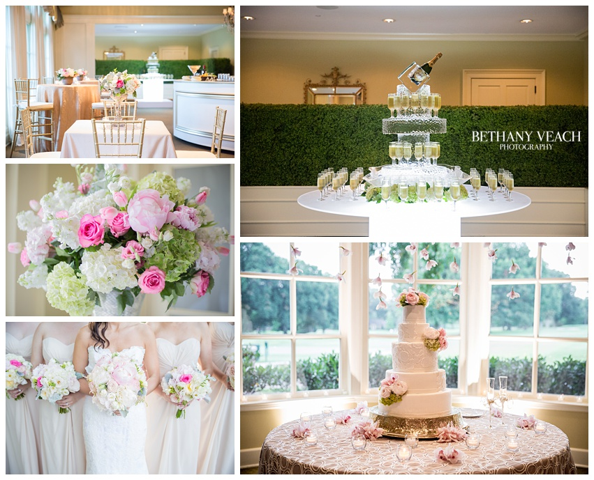 Memphis Country Club Wedding Photography