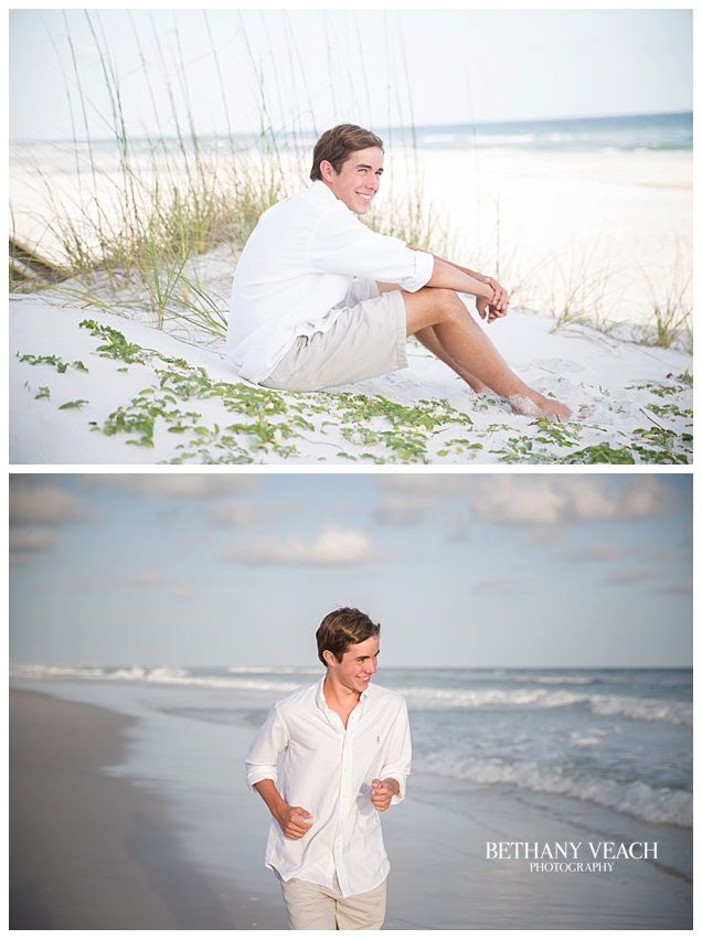 beach senior pictures