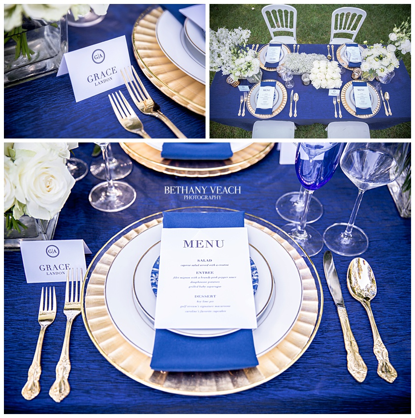 Gorgeous Memphis wedding tablescape