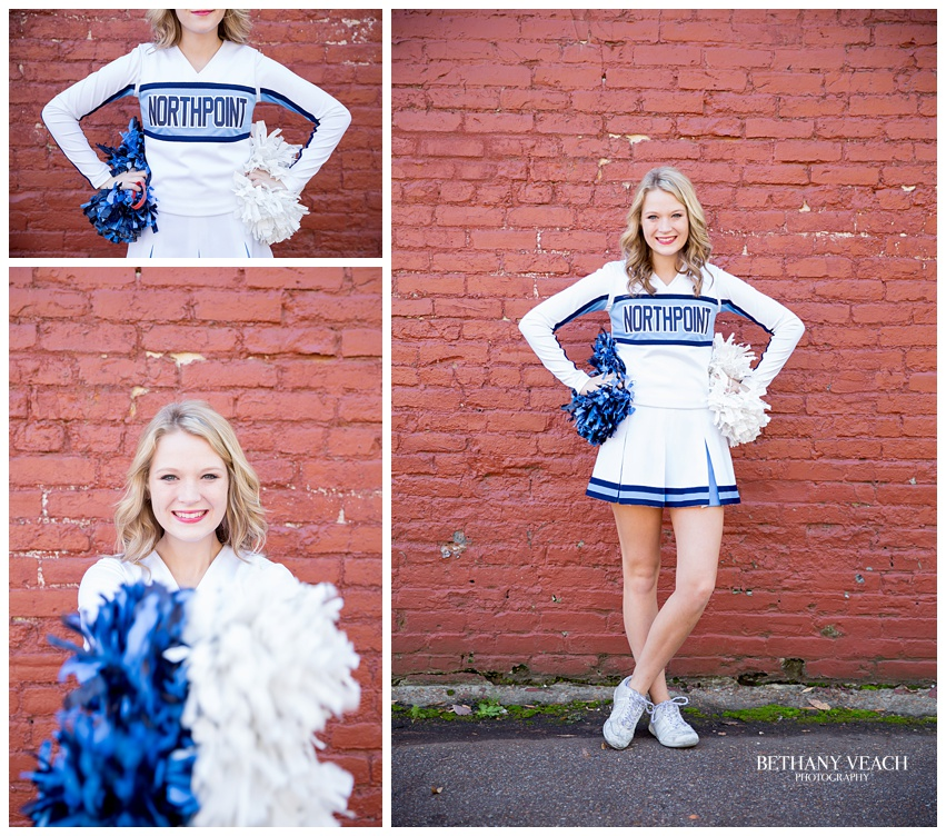 cheerleader portraits
