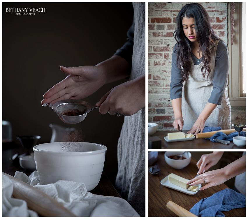 girl cooks for love