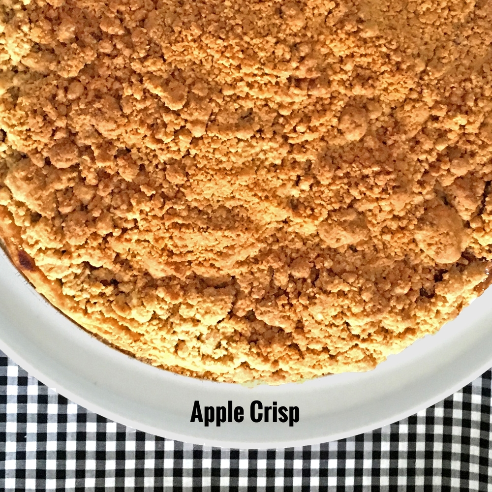 Apple with Crisp Topping