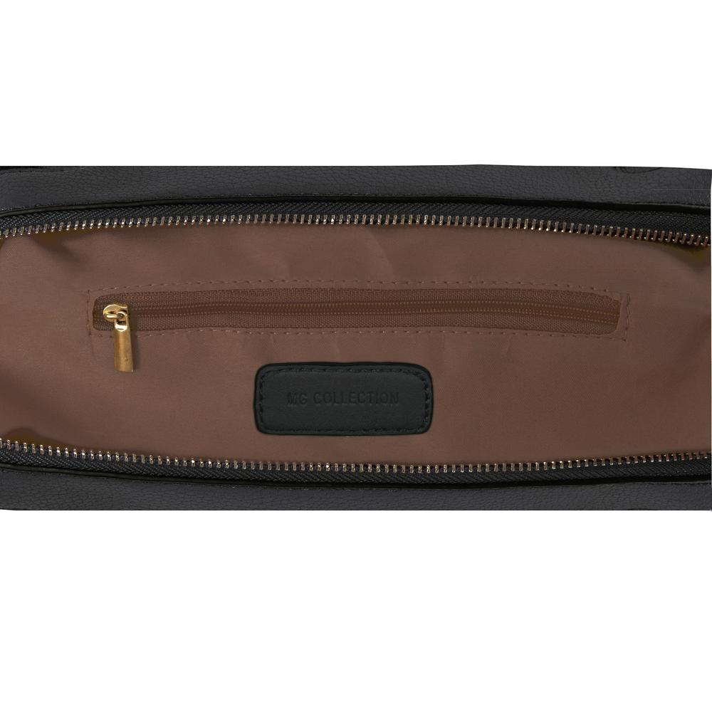 PARKIN Black Gothic Shoulder Bag interior