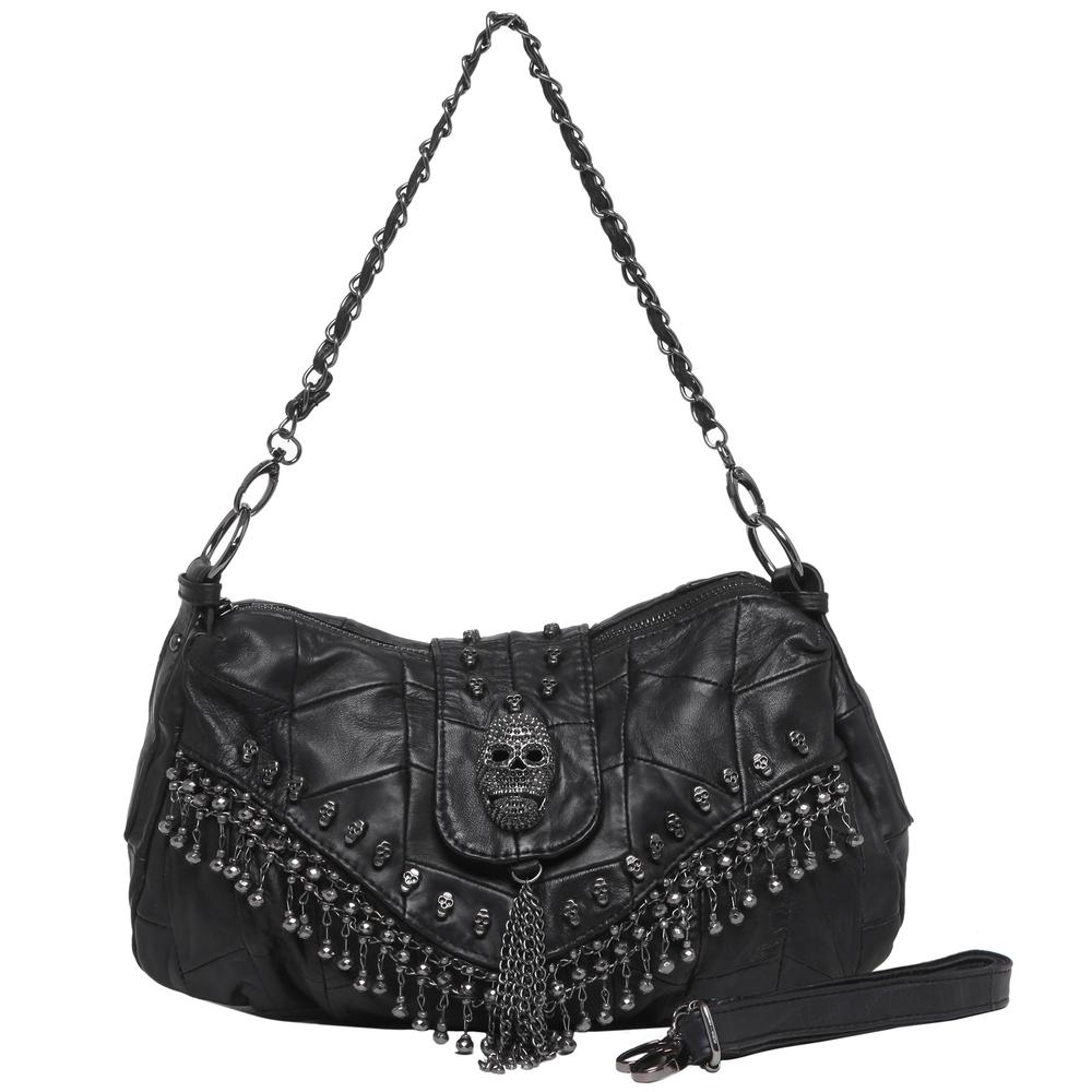 PARKIN Black Gothic Shoulder Bag main