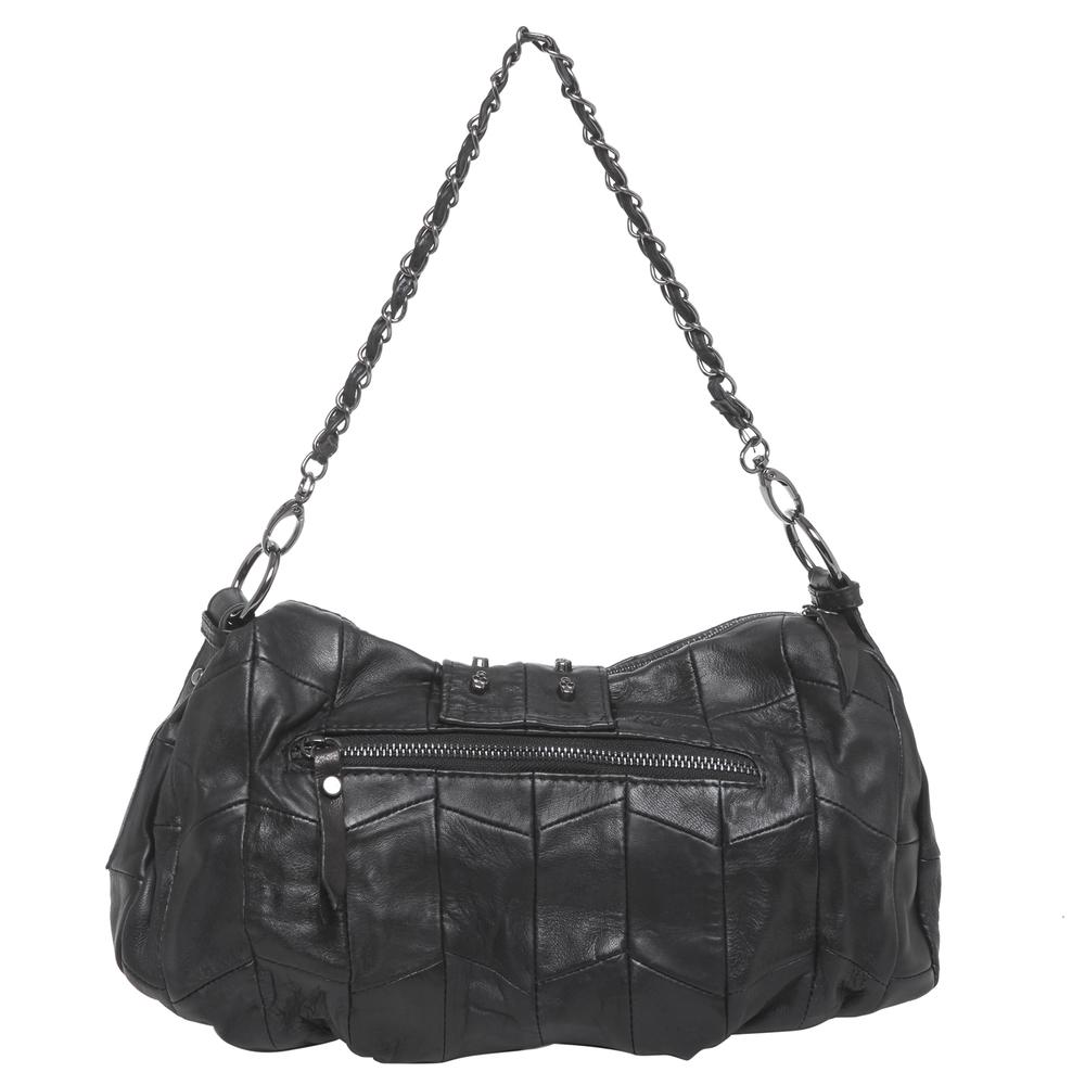 PARKIN Black Gothic Shoulder Bag back
