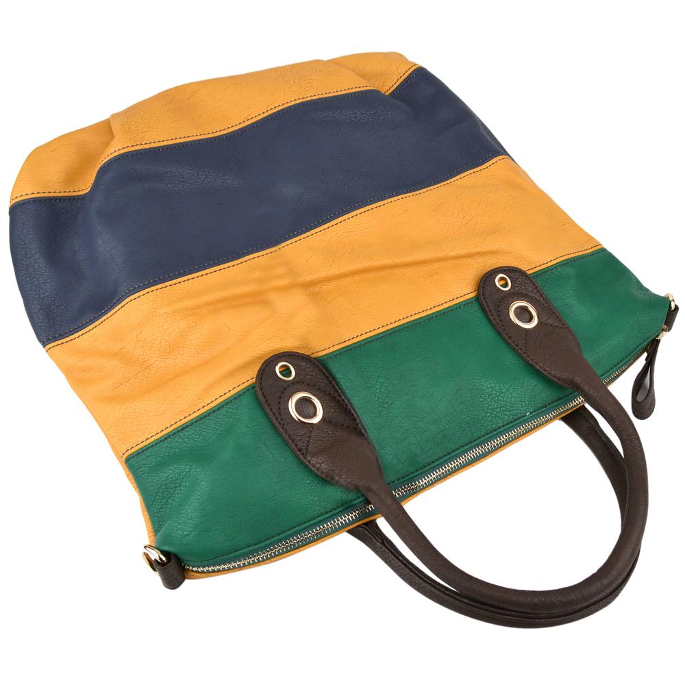 MAYA Yellow Hobo Handbag Handle