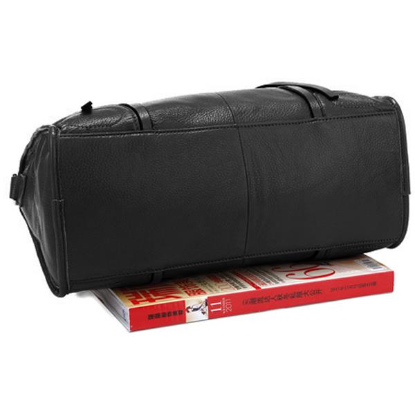 Jazzelle black classic shoulder handbag size comparison image