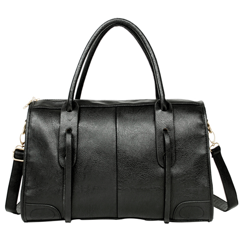 Jazzelle black classic shoulder handbag front image