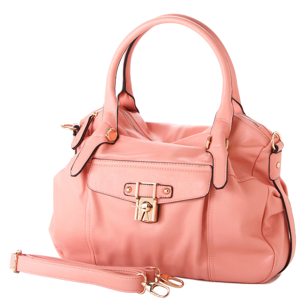 CAME Pink Office Tote Style Satchel Handbag Main image