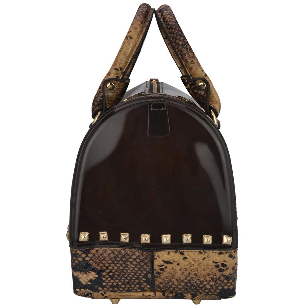 AMANI brown Jessie Style Doctor Handbag side image