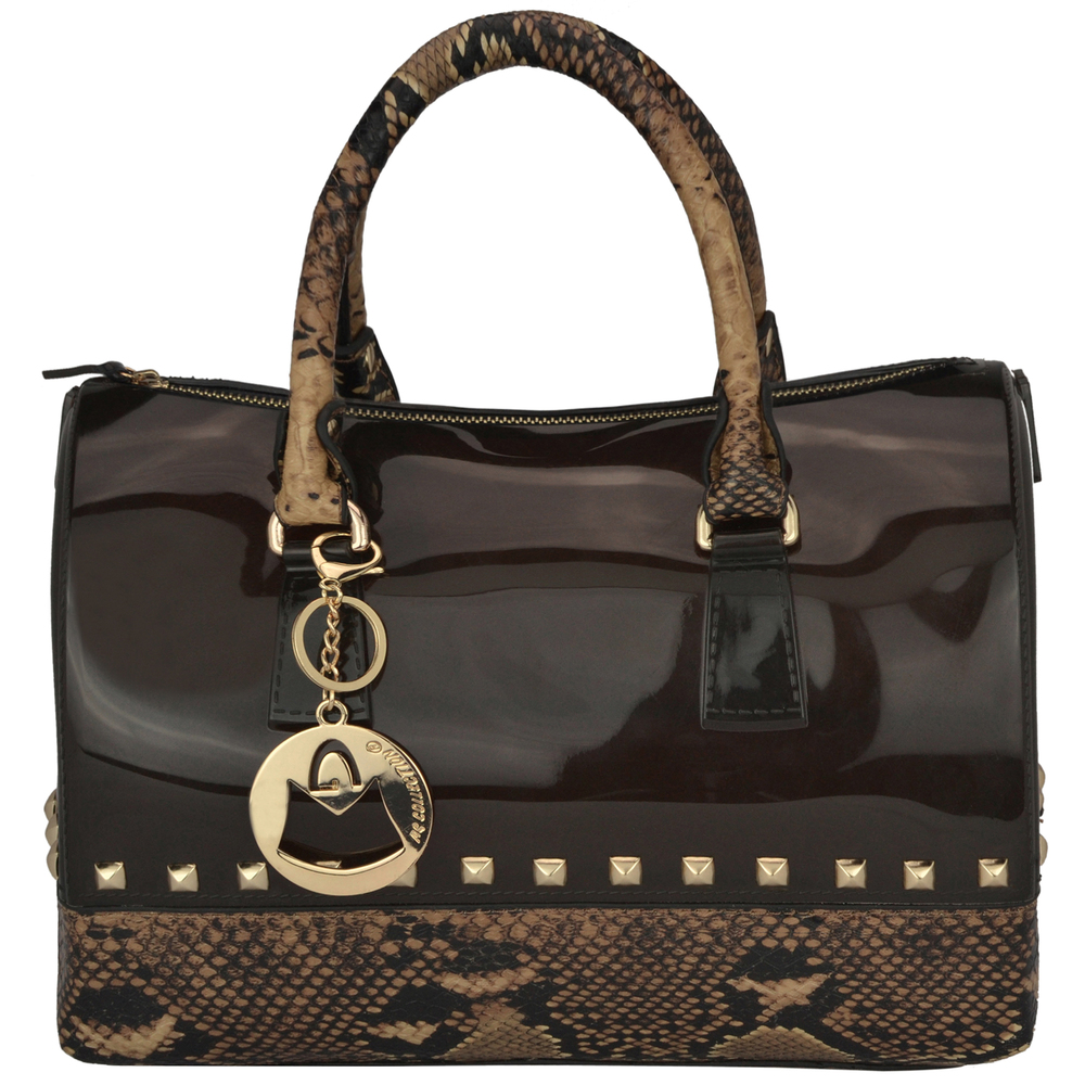 AMANI brown Jessie Style Doctor Handbag front image