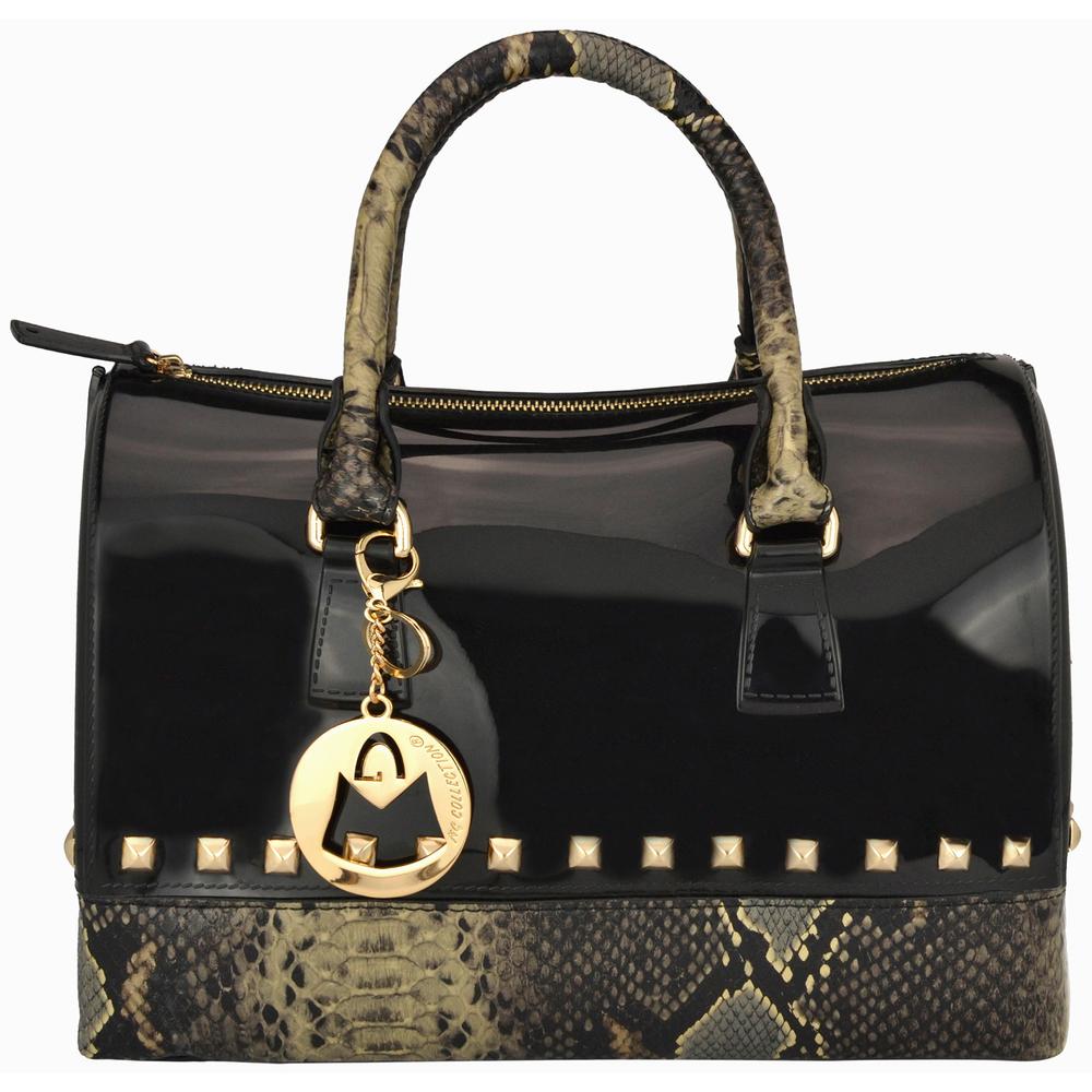 AMANI black Jessie Style Doctor Handbag front image