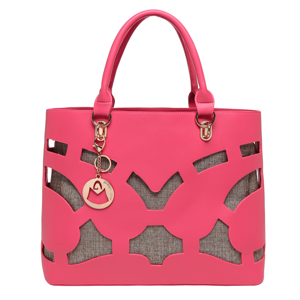 TAYLA Pink Fashion Tote front image