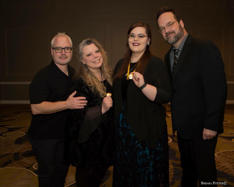 Photo by Barbara Potter - January 2018 in Nashville, TN at the PPA Award and Degree Ceremony where Karissa was presented with her Master's of Photography