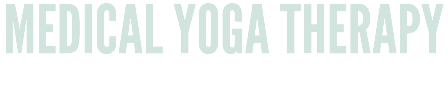 Medical Yoga Therapy