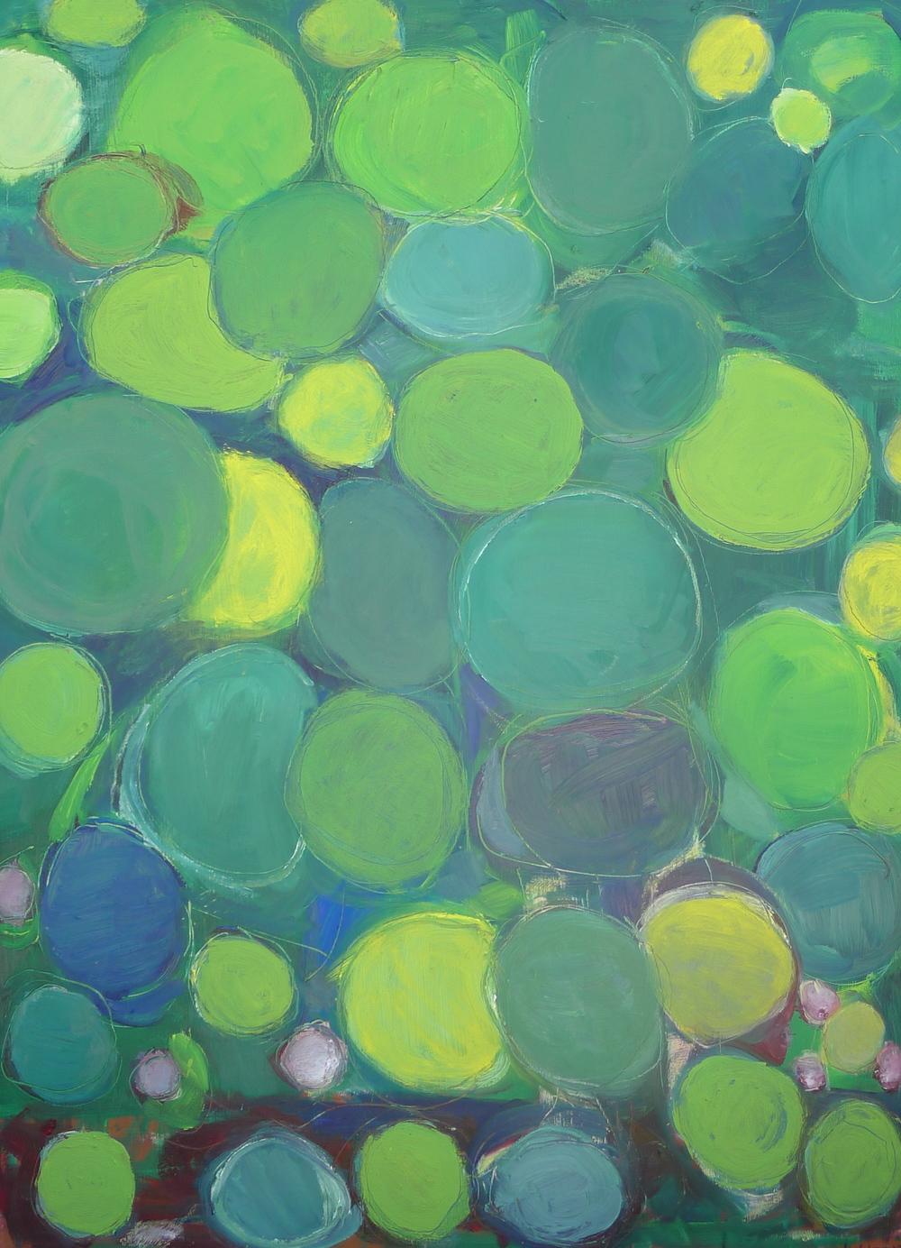 "Untitled oil on panel 24""x 32"""