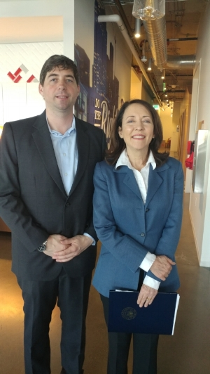 Deja vu Security Adam Cecchetti and Washington Senator Maria Cantwell