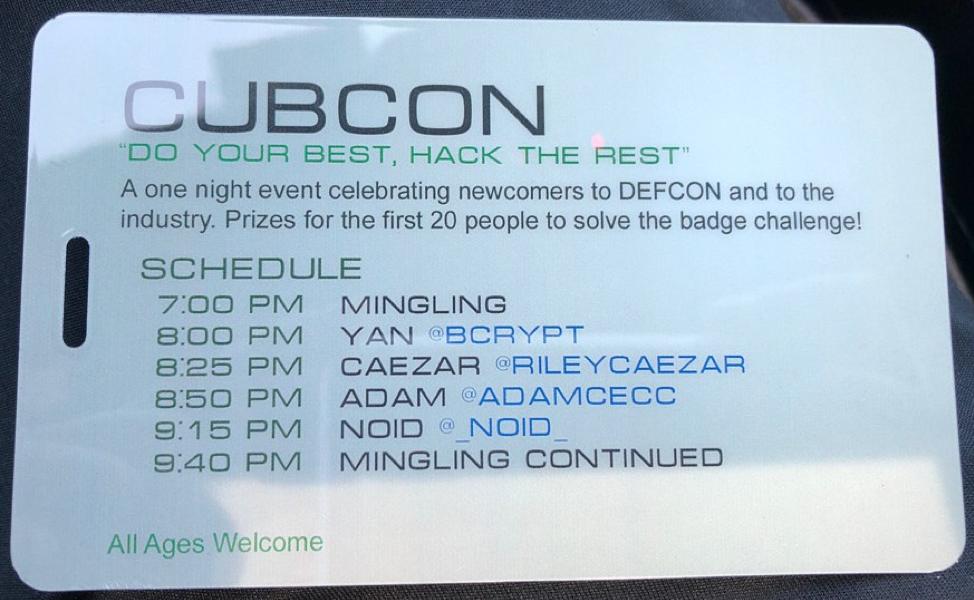 CubCon badge 2
